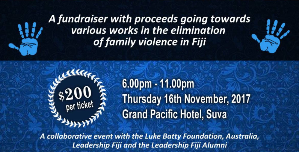 Leadership Fiji 2017 Gala Dinner With Rosie Batty