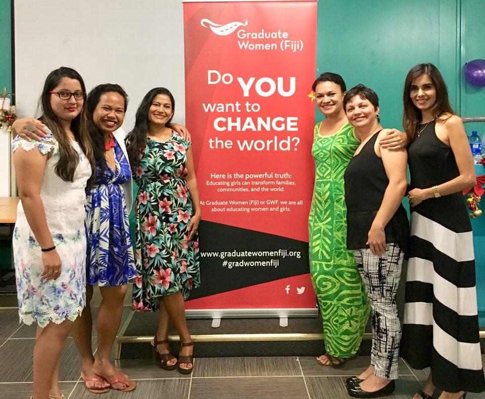 From left: Sonia Khan (VP Development), Maria Ronna Luna Pastorizo-Sekiguchi (VP Membership), Patricia Mallam (VP Development), Charlotte Taylor (President), Rosalia Fatiaki (Treasurer), Renita Sharma (Secretariat)