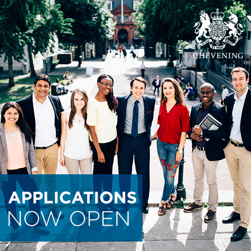 Chevening Fellowships and Scholarships Applications for 2017/2018 now open